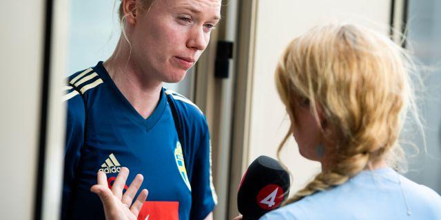 Hedvig Lindahl, arkivbild. SIMON HASTEGÅRD / BILDBYRÅN