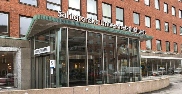 Sahlgrenska sjukhuset i Göteborg. Jonas Dagson/TT / TT NYHETSBYRÅN