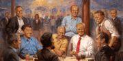 """""""The Republican Club"""" av konstnären Andy Thomas."""
