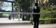 Polis på plats i Malmö i november.  Johan Nilsson/TT / TT NYHETSBYRÅN