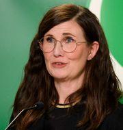 Märta Stenevi blev språkrör för MP tidigare i år. Jessica Gow/TT / TT NYHETSBYRÅN