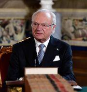 Kung Carl XVI Gustaf. Stina Stjernkvist/TT / TT NYHETSBYRÅN