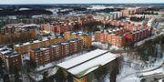 Vy över Stockholmsförorten Husby.  Fredrik Sandberg/TT / TT NYHETSBYRÅN