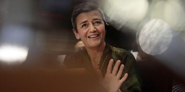 Margrethe Vestager var tidigare konkurrenskommissionär och är nu kommissionär för digitalisering. TT