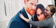 Mosaik av det kungliga paret. Frank Augstein / TT / NTB Scanpix