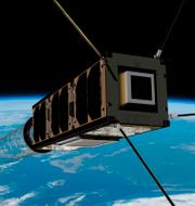Pressbild. Gomspaces satellit GOMX3. Gomspace