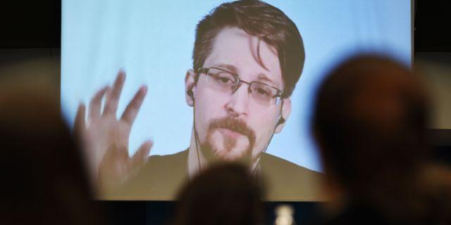 Edward Snowden. Arkivbild. FREDERICK FLORIN / AFP