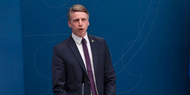 Bostadsminister Per Bolund (MP) Henrik Montgomery/TT / TT NYHETSBYRÅN