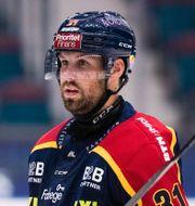Dick Axelsson under mötet med Redhawks.  ANDREAS L ERIKSSON / BILDBYRÅN