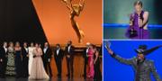 Bilder från Emmy-galan. TT/AP