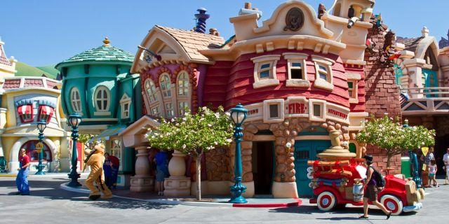 Disneyland i Kalifornien är världens mest instagrammade plats 2017. Wikicommons