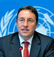 Chef för FN:s utvecklingsorgan UNDP, Achim Steiner MARTIAL TREZZINI / TT NYHETSBYRÅN