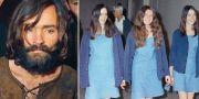Charles Manson och sektmedlemmarna Susan Atkins, Patricia Krenwinkel och Leslie Van Houten. AP/TT