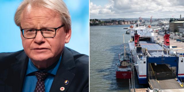 Peter Hultqvist (S)/Göteborgs hamn. TT