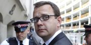 Andy Coulson var chef på brittiska tidningen News of the world. CYRIL VILLEMAIN / AFP