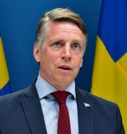 Finansmarknadsminister Per Bolund (MP). Jonas Ekströmer/TT / TT NYHETSBYRÅN