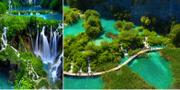 Plitvicesjöarna ligger på vägen mellan Kroatiens huvudstad Zagreb och kuststaden Zadar. Istock