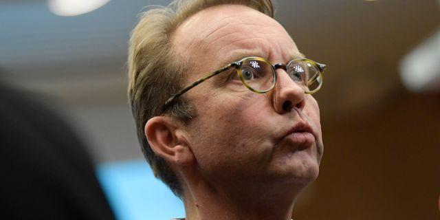 Björn Eriksson. Janerik Henriksson/TT / TT NYHETSBYRÅN