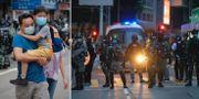 Bilder från Hongkong.  TT