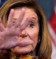 Representanthusets talman Nancy Pelosi.  Jacquelyn Martin / TT NYHETSBYRÅN