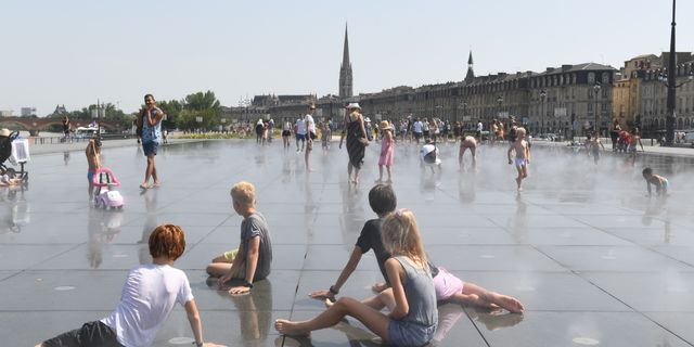 Bordeaux i Frankrike.  MEHDI FEDOUACH / AFP