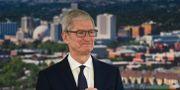 Tim Cook, vd på Apple.  Andy Barron / TT / NTB Scanpix