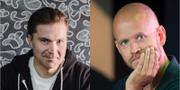 Martin Lorentzon och Daniel Ek, Spotifygrundare.