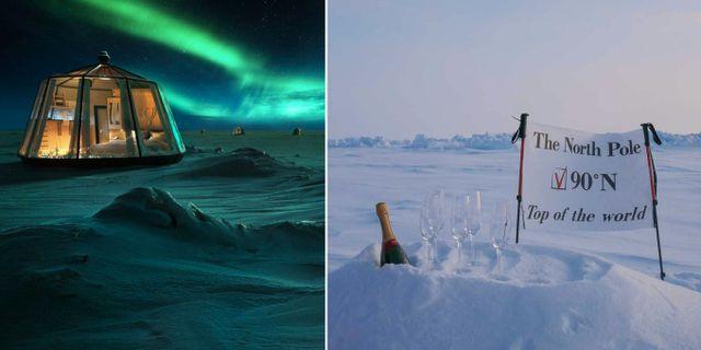 Finska Luxury Action står bakom nya North Pole Igloos Hotel. Luxury Action
