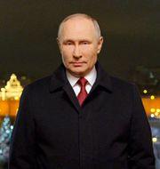 Vladimir Putin. TT NYHETSBYRÅN