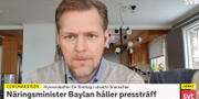 Günther Mårder.  SVT.
