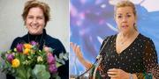 Karin Karlsbro och Cecilia Wikström. TT