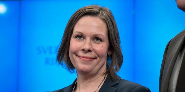 Moderaternas miljö- och jordbrukspolitiska talesperson Maria Malmer Stenergard. Janerik Henriksson/TT / TT NYHETSBYRÅN