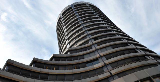 Bank for International Settlements, BIS, i Basel. Georgios Kefalas / TT NYHETSBYRÅN