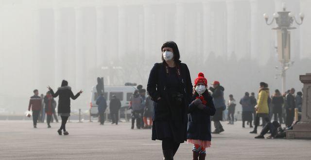 Peking. Arkivbild. Andy Wong / TT / NTB Scanpix