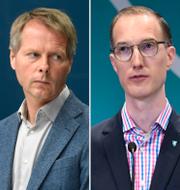 Nyamko Sabuni, Christer Nylander, Jan Jönsson och Jan Björklund/Arkivbilder TT