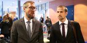 klagarna Jonas Martinsson  och Viktor Törneke  Adam Ihse/TT / TT NYHETSBYRÅN