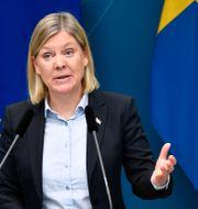 Magdalena Andersson (S). Henrik Montgomery /TT / TT NYHETSBYRÅN