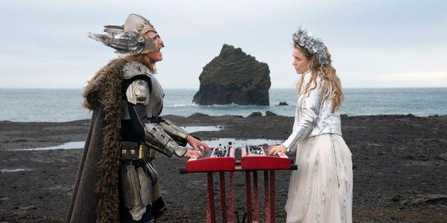 """Will Ferrell och Rachel McAdams i """"Eurovision Song Contest: The Story of Fire Saga"""". Elizabeth Viggiano / TT NYHETSBYRÅN"""