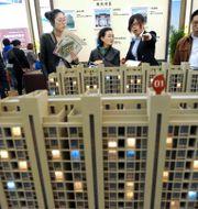 Arkivbild: Utställning av kinesiskt bostadsprojekt. TT NYHETSBYRÅN