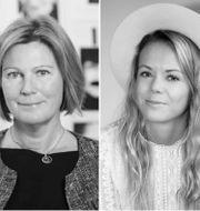 Från vänster: Jeanette Andersson, Sofie Lindblom och Fredrik Franke. Pressbilder