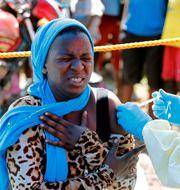Ebola-vaccination i Kongo-Kinshasa, arkivbild. Baz Ratner / TT NYHETSBYRÅN