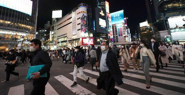 Tokyo. Eugene Hoshiko / TT NYHETSBYRÅN
