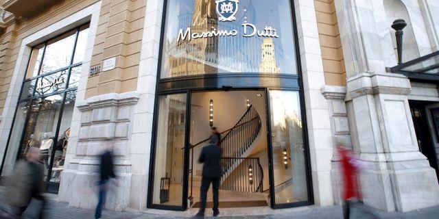 Inditex-butik i Barcelona. Albert Gea / TT NYHETSBYRÅN