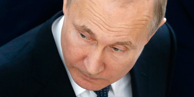 Illustrationsbild, Vladimir Putin. Maxim Shipenkov / TT / NTB Scanpix