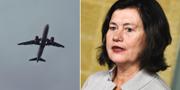 Luftfartsverkets generaldirektör Ann Persson Grivas.