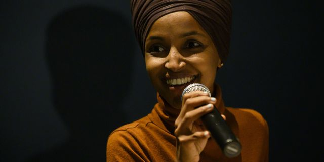 Ilhan Omar. Arkivbild. Stephen Maturen / GETTY IMAGES NORTH AMERICA