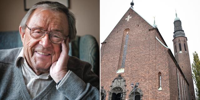 Arne Weise begravs idag. TT