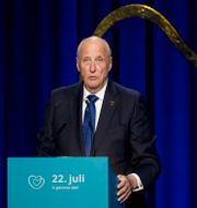 Norges kung Harald. Fredrik Hagen / TT NYHETSBYRÅN