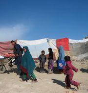 Arkivbild, flyktingar i Afghanistan.  Massoud Hossaini / TT NYHETSBYRÅN