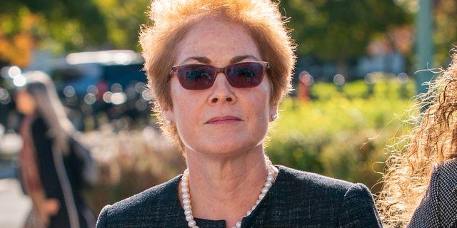 Marie Yovanovitch. J. Scott Applewhite / TT NYHETSBYRÅN